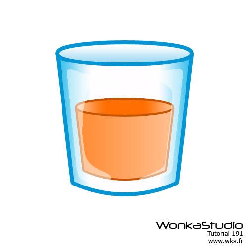Cr er un verre plein avec photoshop trouvez le tutoriel - Dessin de verre ...