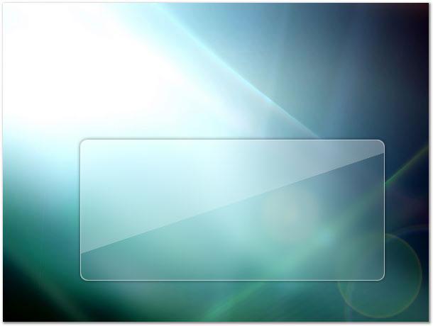 Effet de transparence style windows vista trouvez le for Effet miroir photoshop cs5