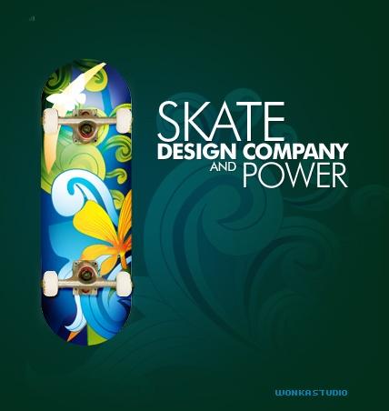 Cr er un skate board design sous photoshop trouvez le tutoriel photoshop cs4 - Creer son skateboard ...